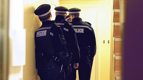 Never Allow the Police Into Your Home