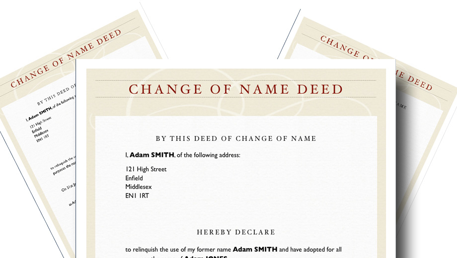 Deed Poll Template – Change Your Name Instantly! | CRIMEBODGE