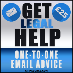 GET one-to-one HELP on police and legal matters for just £15