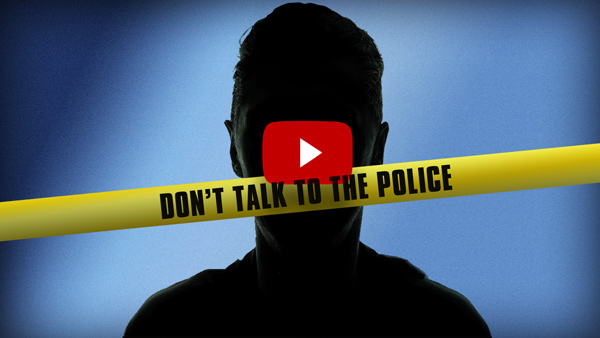 Don't Talk to the Police (Video)