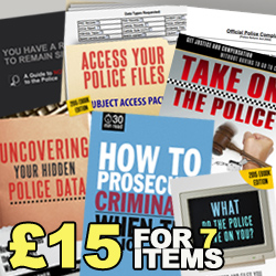 Police Protection Pack – All the Information You Need for Just £15